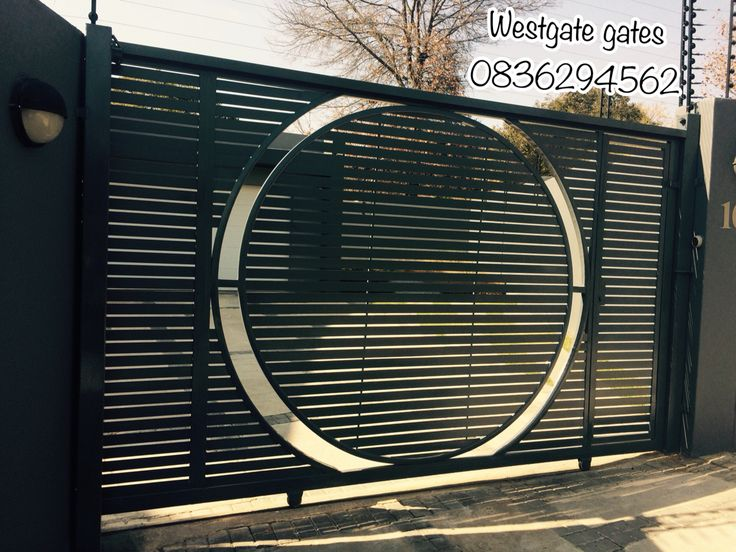 Deco art sliding gates