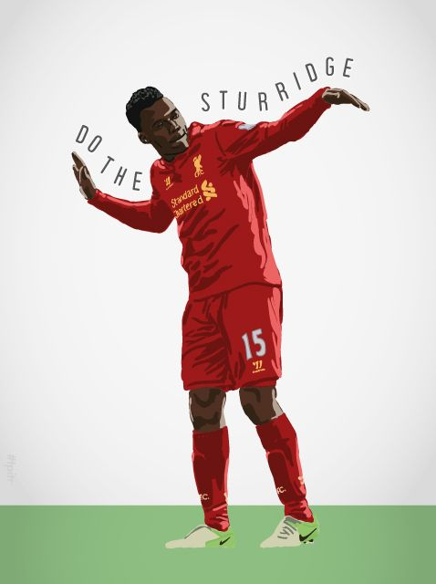 'Do The Sturridge' Daniel Sturridge. #lfc #tpitr