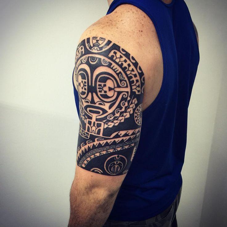 die besten 25 samoanische stammes tattoos ideen nur auf. Black Bedroom Furniture Sets. Home Design Ideas