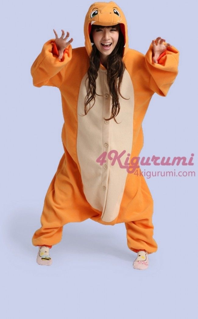 Pokemon Charmander Kigurumi Onesie