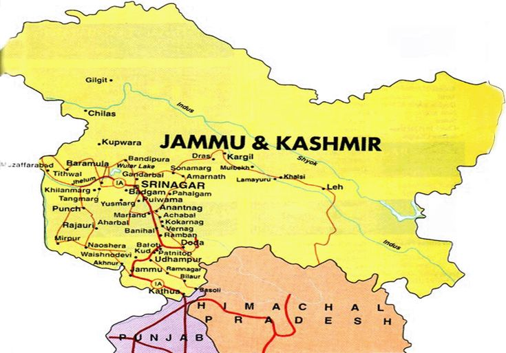 Ten Maps Of Kashmir That Angered India | The Kashmir Walla