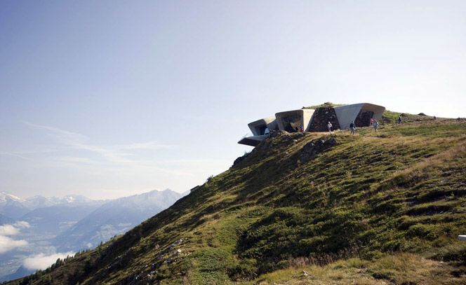 Messner Mountain Museum Corones. www.italianways.com/the-messner-mountain-museum-corones-and-pounds-pillars-of-hercules/