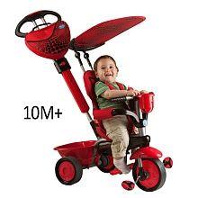 Smart Trike 3-in-1 Tricycle - Zoo Ladybug