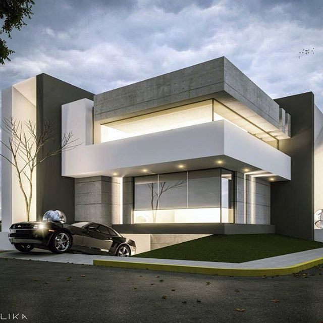 Architectural Designs For Modern Houses: #ModernHome #Architecture #Design #Concepts Interior