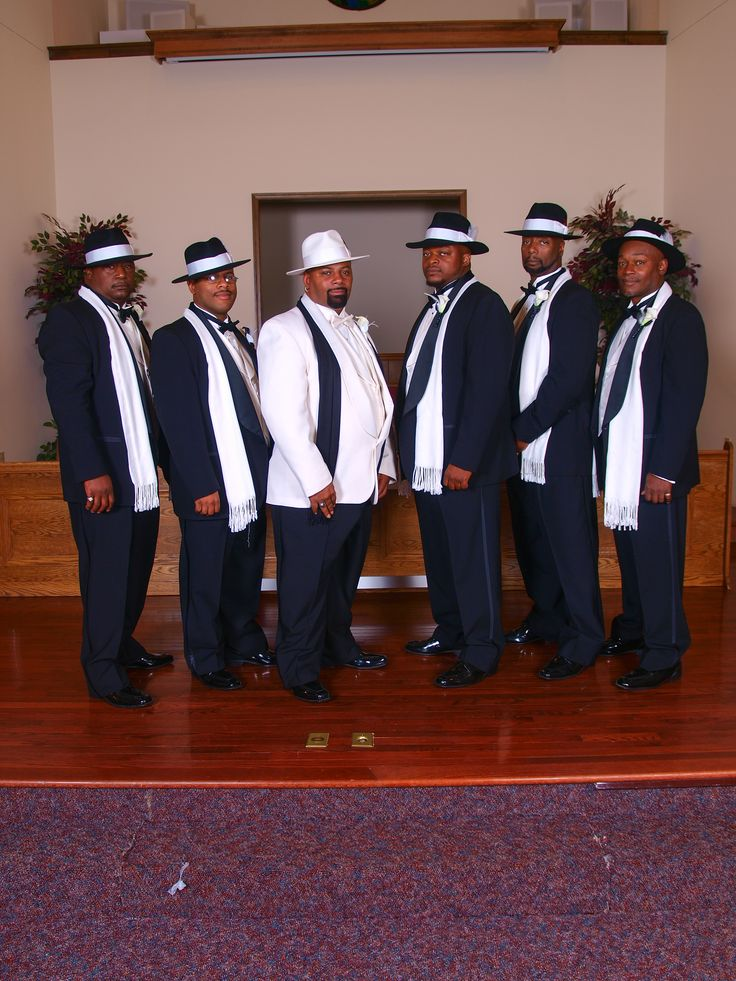 Black And Ivory Suits With Top Hats Harlem Nights