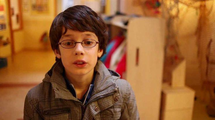 Autisme op de basisschool in de klas. Isaac.