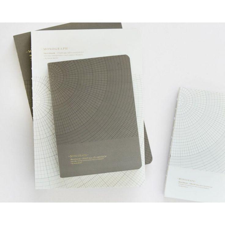 Notebook GEOMETRIC Grey - 13x18