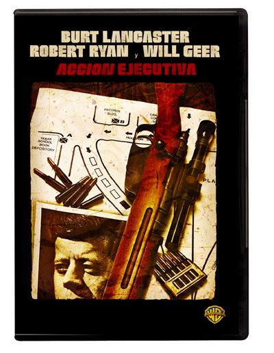Acción ejecutiva (1973) EEUU. Dir.: David Miller. Drama. Thriller. Historico. Anos 60 - DVD CINE 1905