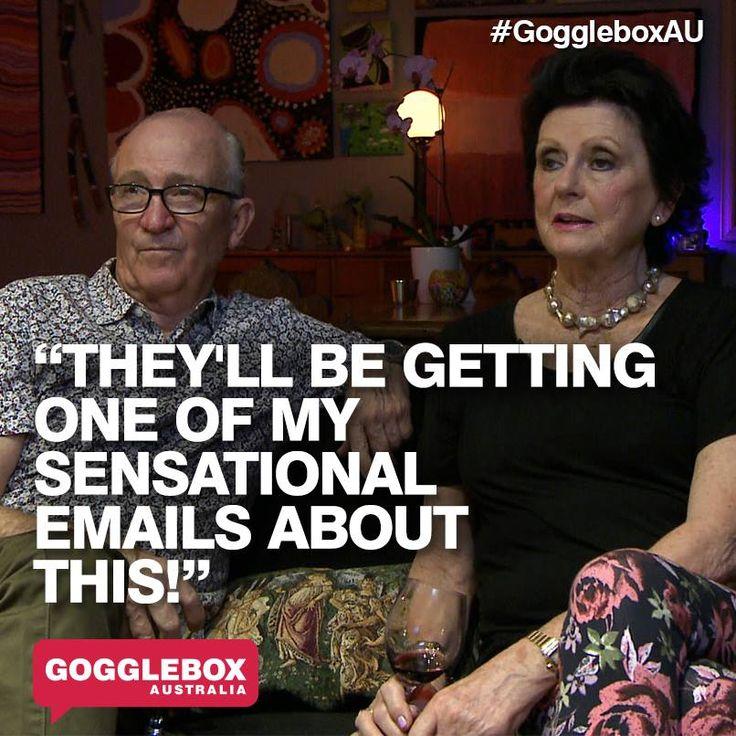 Gogglebox Australia - Mick and Di