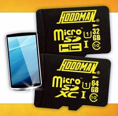 Hoodman micro SD Cards!