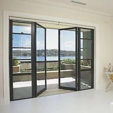 slimline powder coated aluminium french doors - Google Search