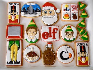 elf cookies!!!  please oh please who will bring these to our new year's eve party?!