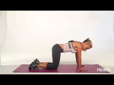 Watch this video to get a serious head-to-toe and front-to-back workout with celebrity trainer, Tracy Anderson. You can lose up to 10 inches over your entire...
