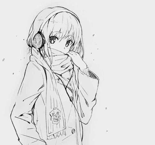 Kết quả hình ảnh cho vẽ anime girl