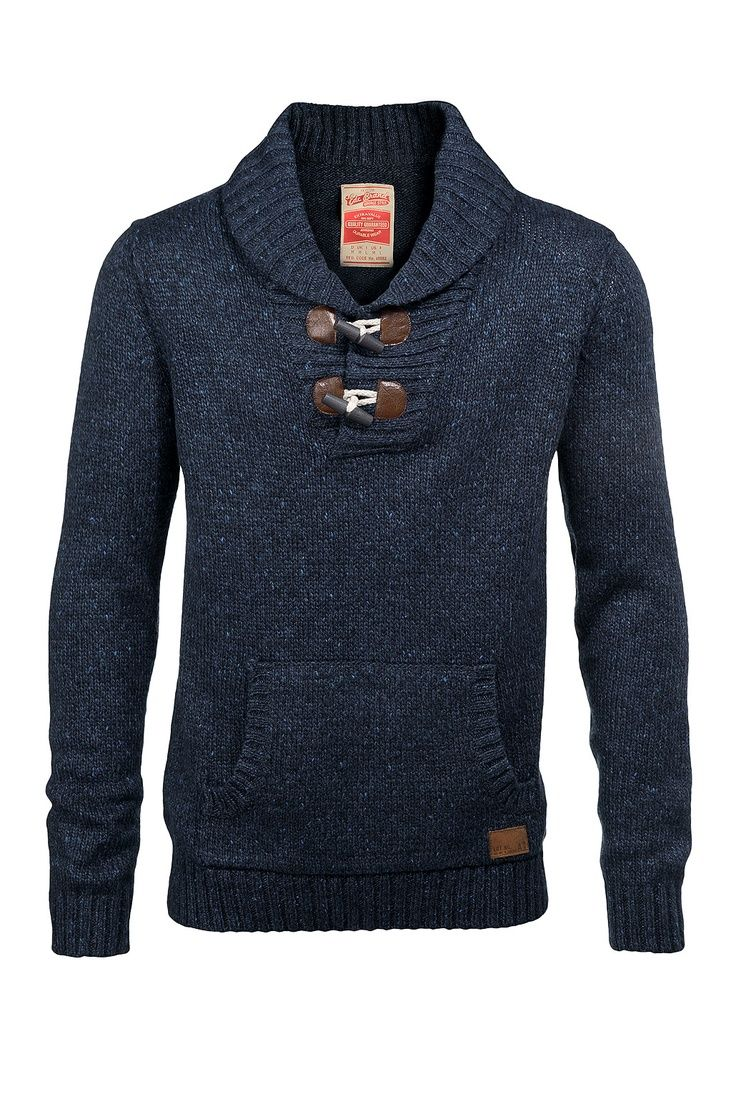 Wool Shawl Collar Pullover with Toggle Closure. I love these sweaters for Fall!