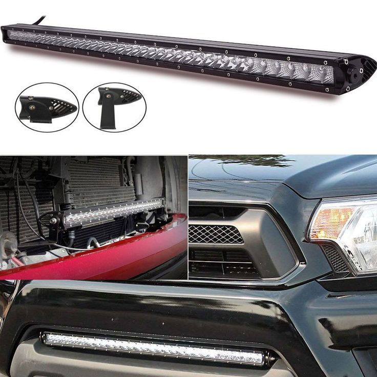 Amazing inch Low Profile LED Light Bar Single Row Ford F Pickup Toyota Chevy GMC