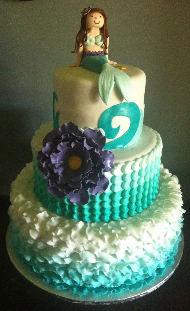 17 Best Images About Mermaid Cake Inspiration On Pinterest