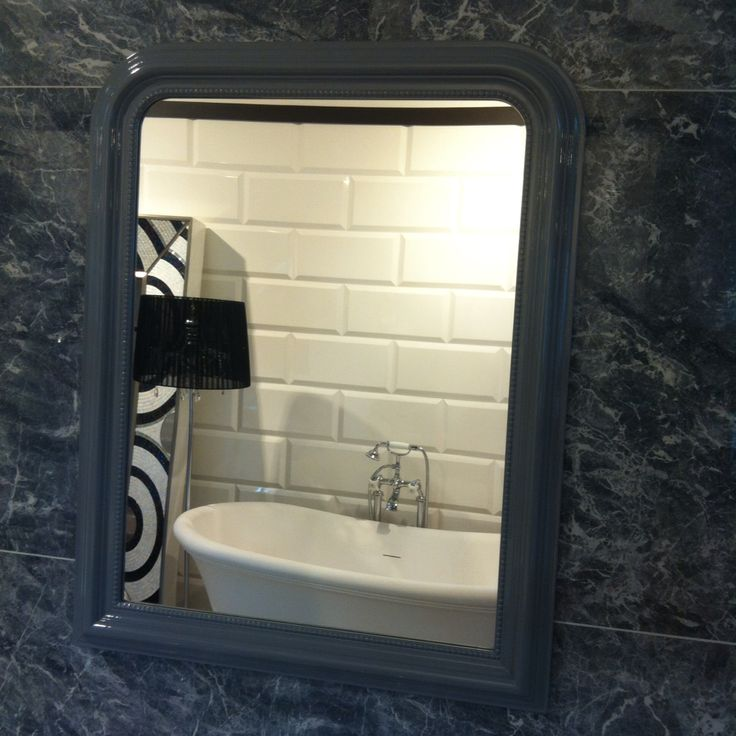 """Мужская """"половина"""": Плитка #Caesar коллекция Anima, цвет Grey St. Laurent; Зеркало Madame #DevonDevon; В отражении новинка 2014 года, ванна Aurora Bijoux и душевая стойка White Rose от тех же Devon&Devon.  #smalta #smaltaitaliandesign #coffeeproject #coffeeandproject #interiordesign  #design  #сантехника #красивопрактично  #стильнаяванная  #amazing  #comfort  #bath  #bestdesign  #интерьер  #плитка  #ванная  #дизайн  #идеидлядома  #дом  #дача  #дизайн_интерьера  #ремонт  #homeidea"""