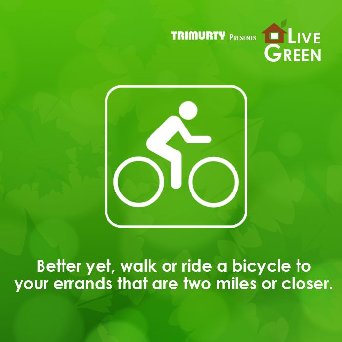 Let's fix up our bikes to keep our earth & ourselves healthy! #LiveGreenTip