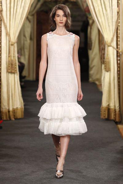 Vestidos de novia cortos: diseños que te enamorarán. ¡Elige el tuyo! Image: 19