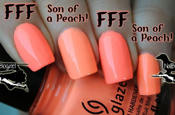 """While most neons dry matte (such as """"Flip Flop Fantasy""""), this dried in between. Description from nailblog.net. I searched for this on bing.com/images"""