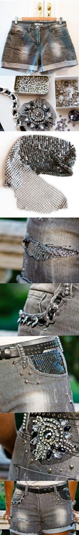 DIY: Customized shorts