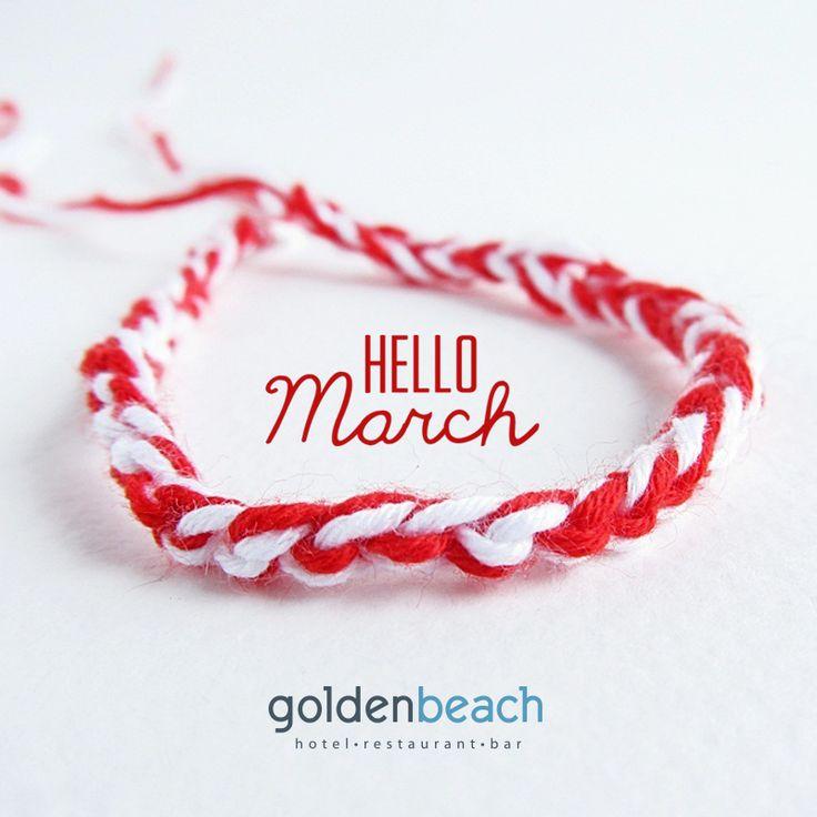 Hello March... Hello Spring! @goldenbeachhotel   www.goldenbeach.gr #goldenbeachhotel #goldenbeach #beach #paros #holidays #greece #hotel #summer #toparos
