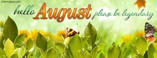 Ciao agosto Please Be Legendary copertina Facebook
