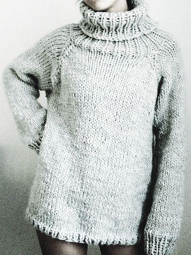 Three Movies Sweater pattern by Handarbetaren