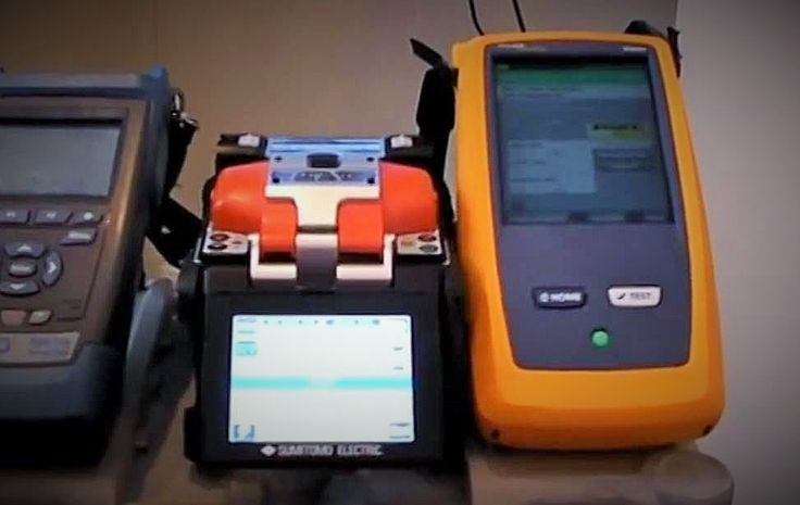 equipamiento para pruebas de fibra optica