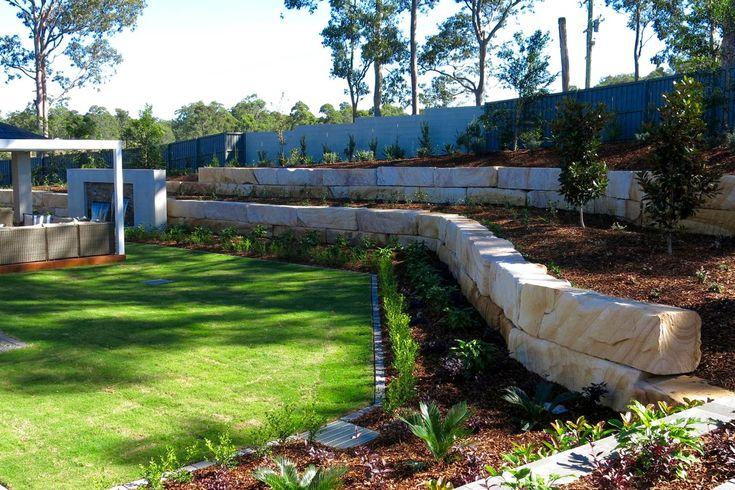 McDonald Jones Display Homes, Thornton - Novascape Landscaping
