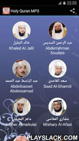"""Holy Quran Karim Mp3  Android App - playslack.com ,  De Heilige Koran is het heilige boek van de moslims. De Koran werd aan profeet Mohammed sallallahu ^ alayhi wa salam Llâhu geopenbaard door de engel Jibril (Gabriël). Deze openbaring heeft 23 jaar geduurd .De Koran heeft 114 hoofdstukken genaamd soera's als de eerste soera Al Fatiha wordt genoemd. Elke soera bestaat uit zinnen genaamd """"ayat"""". De langste soera is de """"Al Baqara ', het heeft 286 ayasWij bieden gratis Arabische Koran…"""