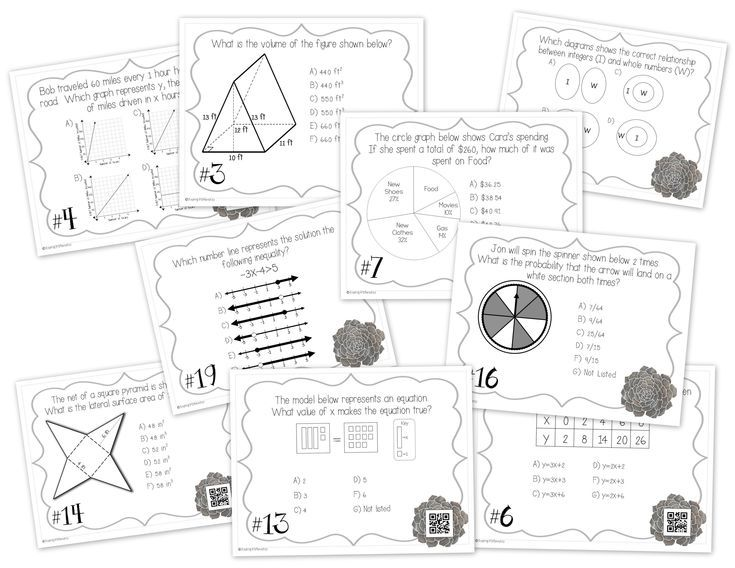 Pin on 7th Grade Math Worksheets, Activities, Ideas, and