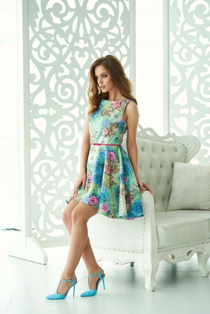 Comanda online, Rochie StarShinerS Top Look Green. Articole masurate, calitate garantata!