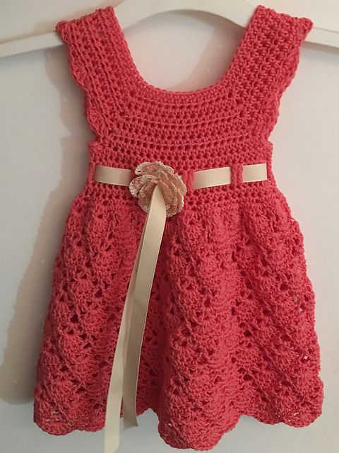 Ravelry: Project Gallery for Vintage Toddler Dress pattern by Dorianna Rivelli