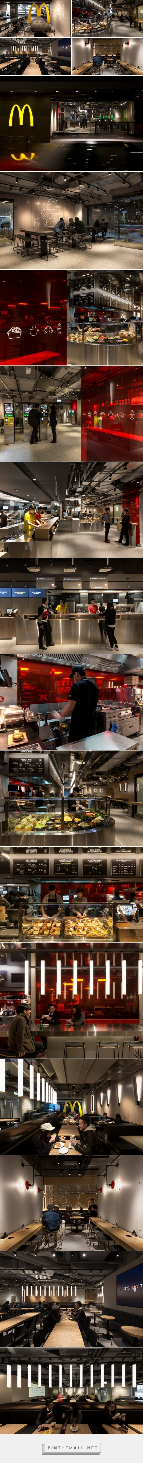 This is the most remarkably modern McDonald's we've ever seen | CONTEMPORIST. Mc Donald's Next Hongo Kong - created via https://pinthemall.net