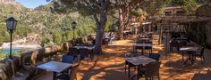Es Vergeret, Cala Tuent - lovely restaurant with fab views! North West #Mallorca