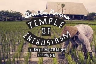 Deus Ex Machina Temple of Enthusiasm in Bali (Canggu)