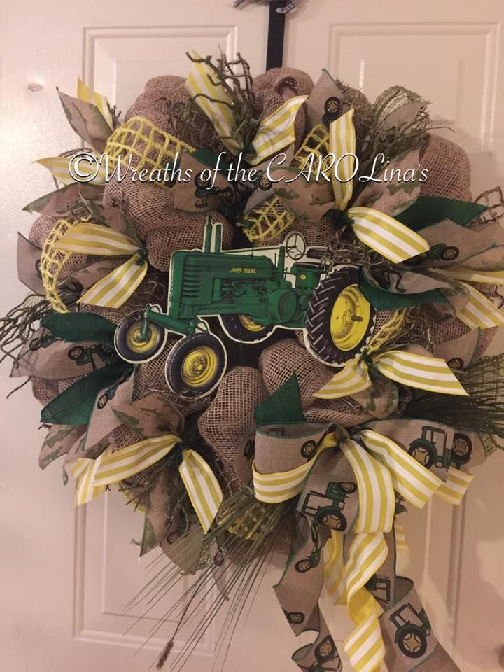 This Beautiful Yellow And Brown Combo Wreath Is Made By Carol Treadway A Member Of Our FREE FB Grow With Nancy Group In Where Artisans Crafters