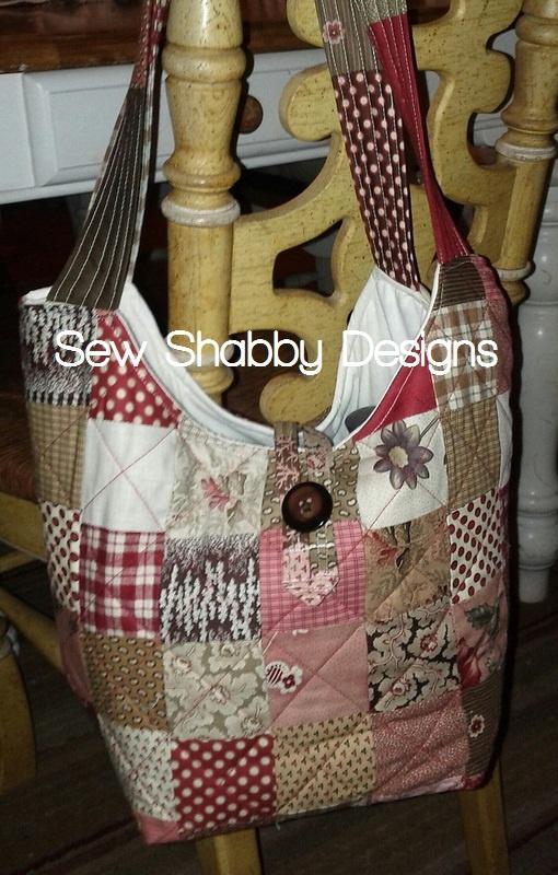 Moda Grace Patchwork bag