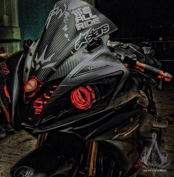 YZF-R6 Custom Head Light Cr.FB/Bikepsyche