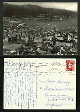 NORWAY VINTAGE POSTCARD/STAMP 1952 R.PHOTO -BERGEN -RARE