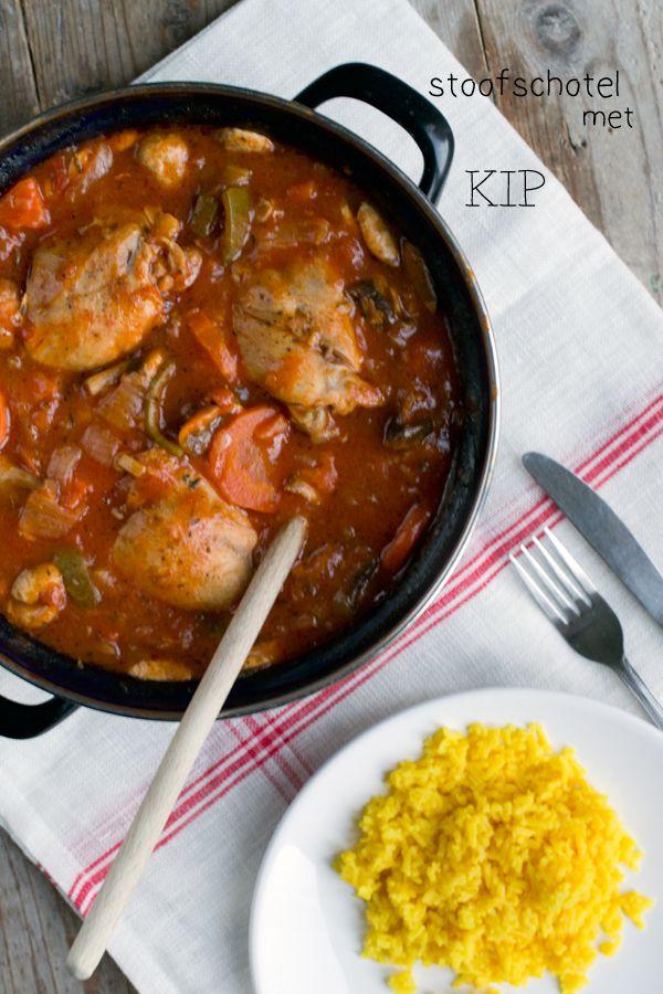 Stoofschotel met kip - Brenda kookt