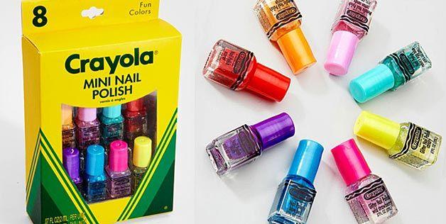 new box of Crayolas...