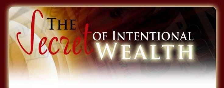 Margaret M Lynch  The Secret of Intentional Wealth