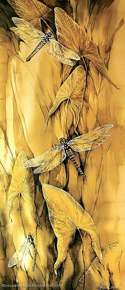 Каминская Батик libellule - dragonfly