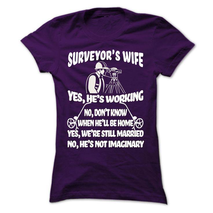 my husband is surveyor T Shirt, Hoodie, Sweatshirt