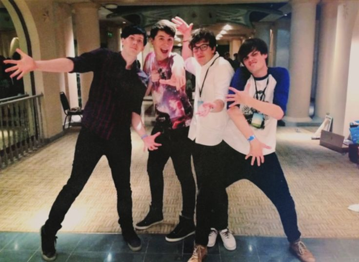 phil lester ✧ amazingphil & dan howell ✧ danisnotonfire & pj liguori ✧ kickthepj & chris kendall ✧ crabstickz ✧ the fantastic foursome