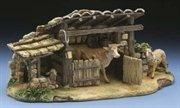 Nativity Village Animal Corral With Swinging Door