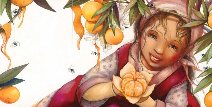 Gabrielle Grimard (QC) L'illustratrice de mon album «Fatima et les voleurs de clémentines»
